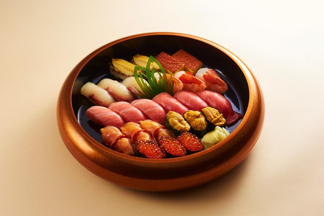 特々上にぎり寿司